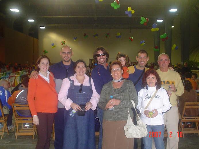 Familias Mellado Terán y Bernal Suarez