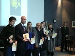 Premiação do Concurso Anual Literário de Caxias do Sul promovido pela Biblioteca Pública Municipal