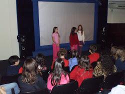 Apresentações dos alunos da Escola Província de São Pedro a partir da leitura do livro Kimbalo.
