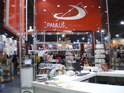 Kimbalo na Paulus da BIenal Internacional do Livro