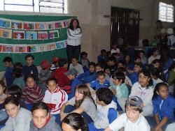 Mais fotos do encontro na Escola Luiz Covolan