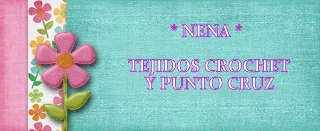 TEJIDOS Y PUNTOS CRUZ DE NENA