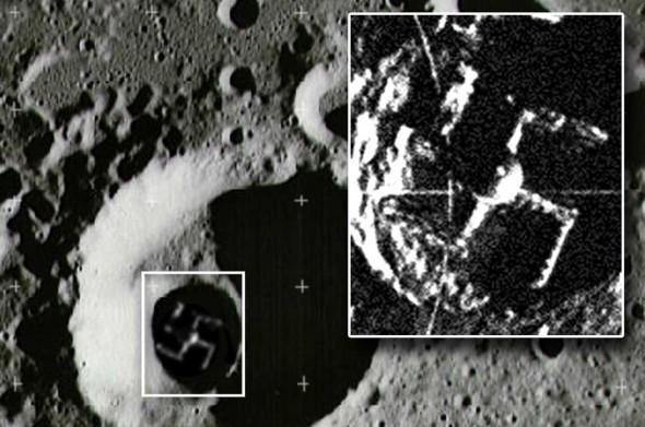 Foto de los Nazis en la Luna