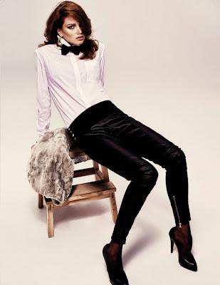 Lena Lomkova para Vogue Turquía, Diciembre 2010