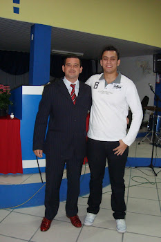 Pastor Fabiano e Michel Alvarenga