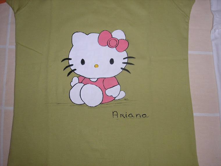 T-shirt com a Kitty