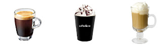 Coffeecat Americano, Mocha, Latte