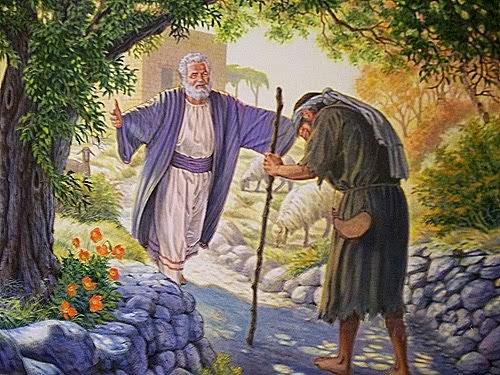 El padre que sale al encuentro del hijo pródigo