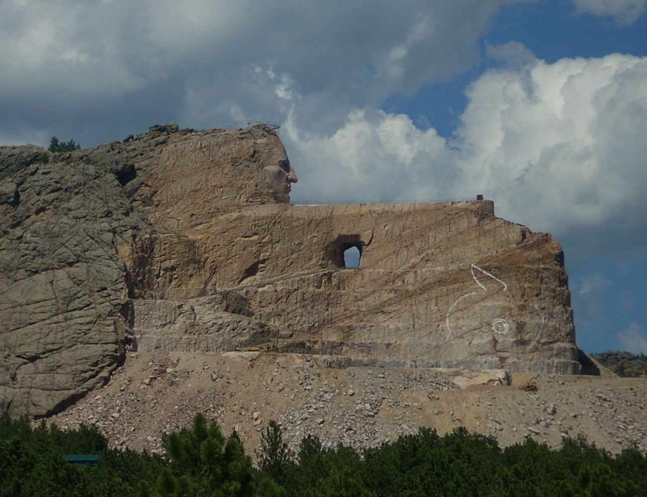 Crazy Horse Monument Finish Date crazy horse « mick and ann's travels