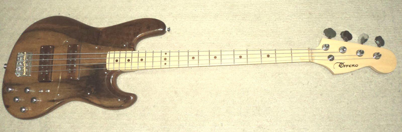 Circuito Eletrico Jazz Bass : Offero guitars jazz bass cordas circuito e captação jb