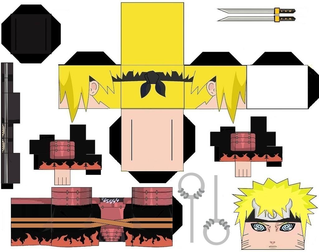 Naruto tamaño grande