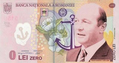 Bancnota 0 lei
