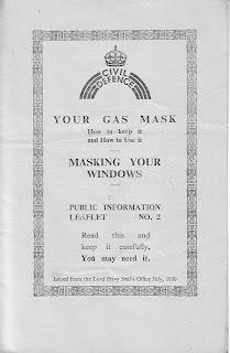 Civil defence, public information leaflet, Second World War, World War Two, World War 2, WWII, History, Home Front