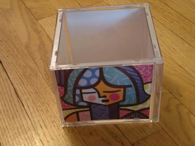 Black Kat\'s Design: It\'s Craft Time! - CD Case Cube Frame