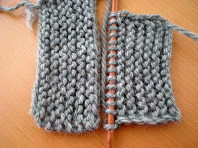 Knitting Tips: A selvage stitch.