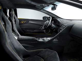 Lamborghini Murcielago LP 670-4 SuperVeloce 2009 interior