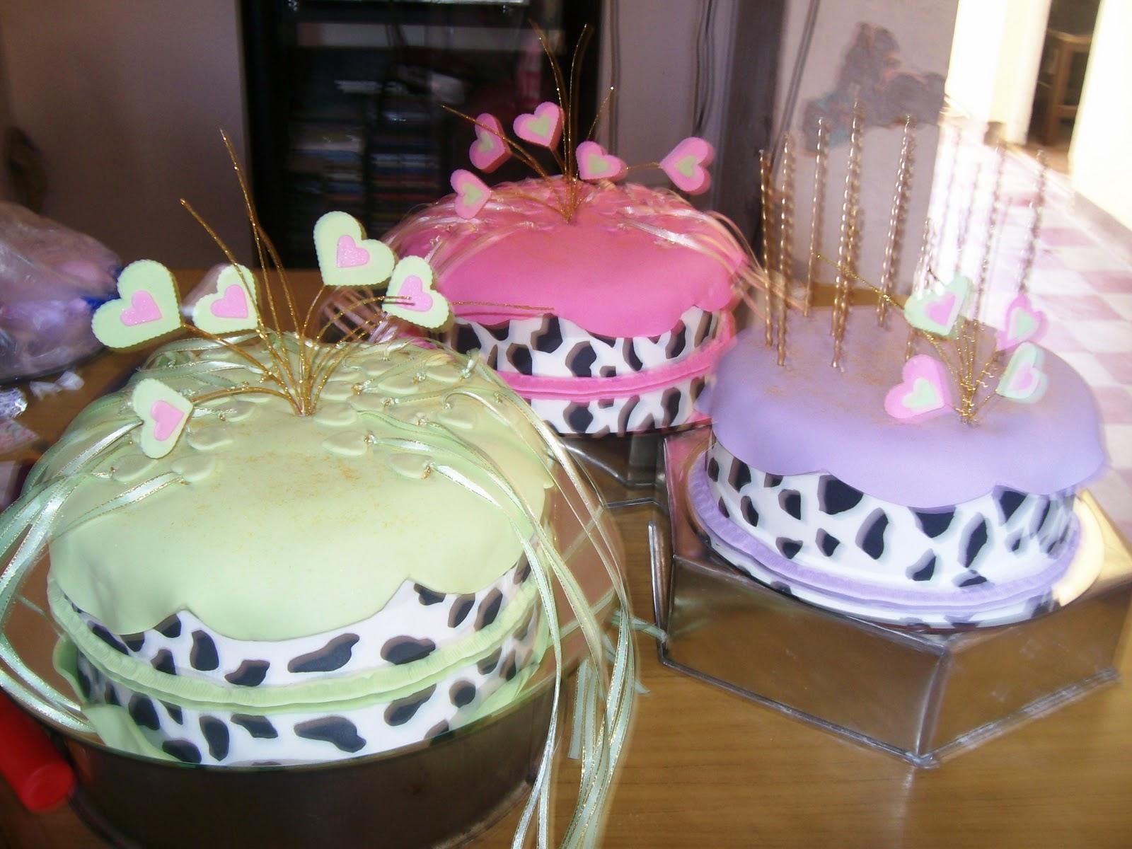 tortas con bandejas espejos, para 15 años con los diges en su ...