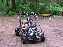 Rex's new Go-Kart!