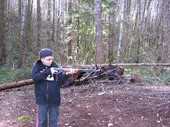 Rex's new BB gun