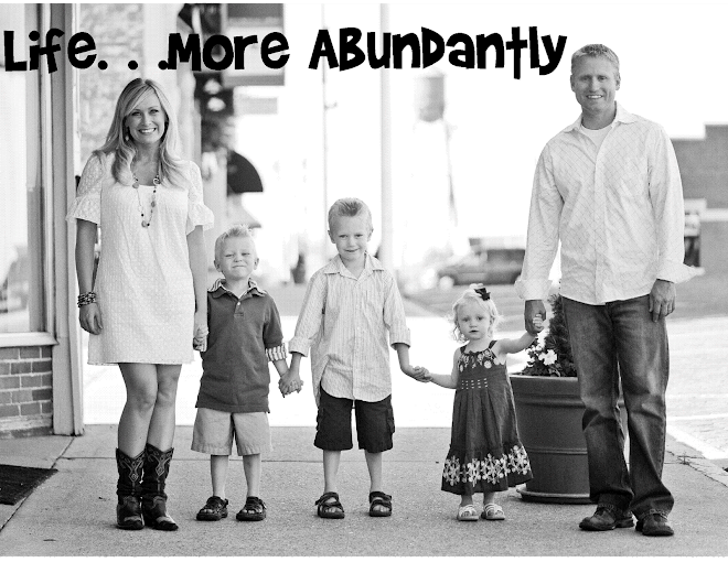 Life More Abundantly