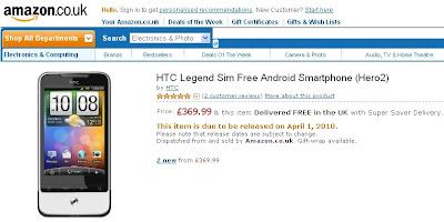 HTC-Legend-Amazon-UK