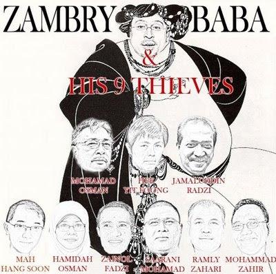 Zambry Baba & 40 Pencuri