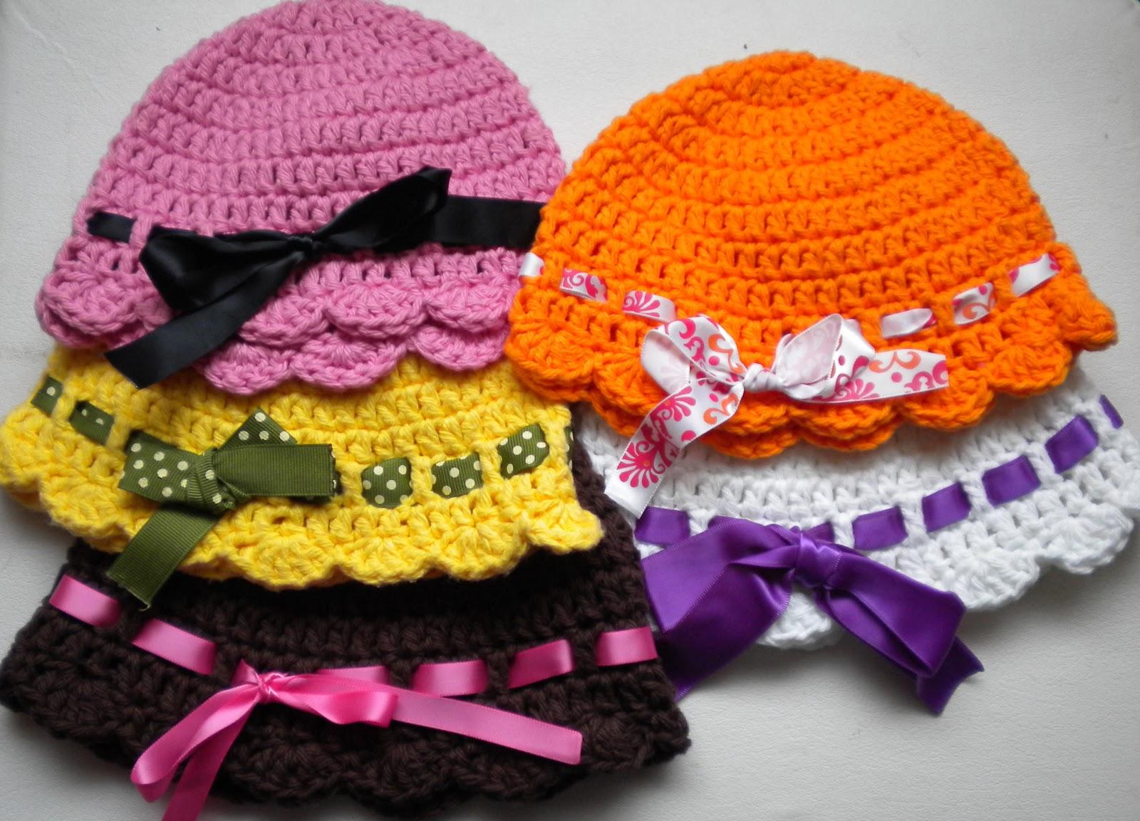 AnnaVirginia Fashion: Baby Flapper-Girl Hat *Pattern*