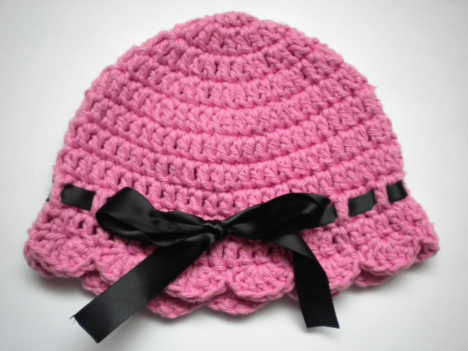 Crochet Patterns For Baby Girl : AnnaVirginia Fashion: Baby Flapper-Girl Hat *Pattern*