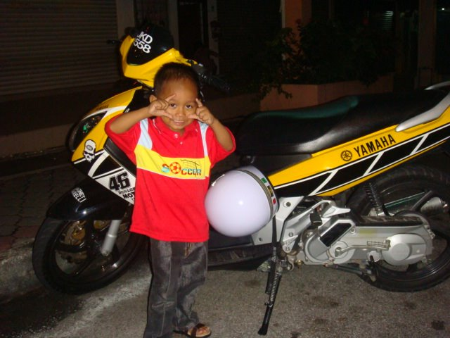 Habib dgn motornya