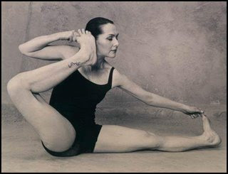 Easy Yoga For You Akarna Asana