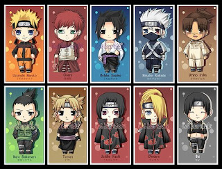 Chibi Naruto Bookmark