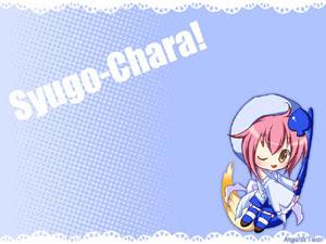 Miki Amu Hinamori Shugo Chara Anime WAllpaper
