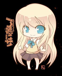 K On Characters Chibi Anime Gallery: Akiyama Mio K-On Chibi
