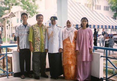 Mak Cik & Family