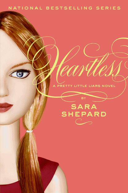 Pretty Little Liars Book Cover : Pop culture junkie heartless pretty little liars by