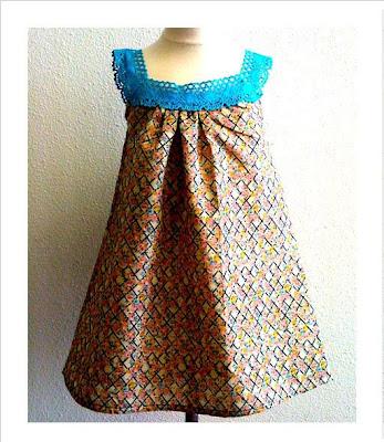 FASHION DOLL SUN DRESS Crochet Pattern - Free Crochet Pattern