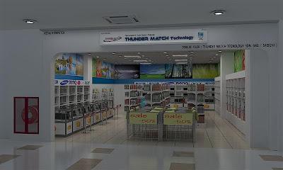 Computer Shop Interior Design