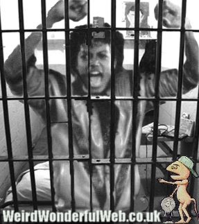 IMAGE: Michael Jackson behind bars