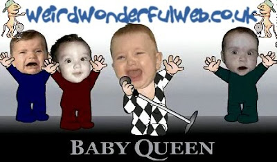 IMAGE: Queen as babies