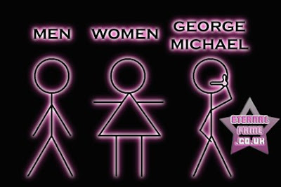 IMAGE: George Michael toilet sign
