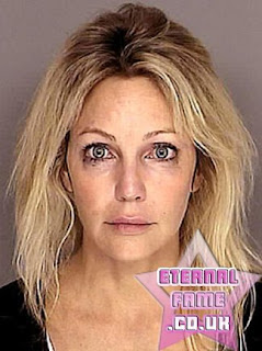 IMAGE: Heather Locklear mugshot