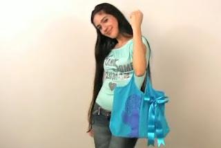 Como hacer un bolso de una polera