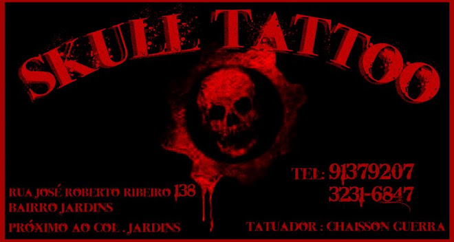 Skull tattoo - Aracaju / SE