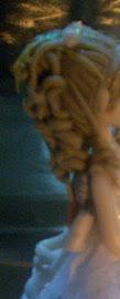 Peinado semirecogido y ondulado
