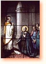 święty Ignacy Loyola i towarzysze