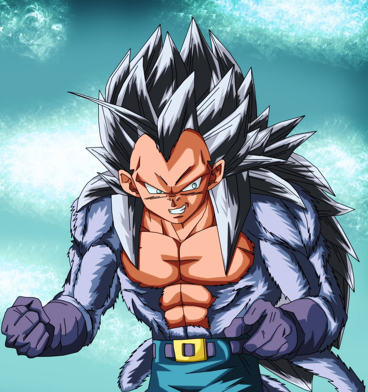 Dragon ball - Goku 5 super saiyan ...