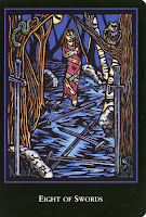8 of Swords World Spirit Tarot