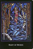 8 of Swords World Spirit Tarot