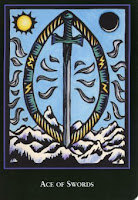 Ace of Swords World Spirit Tarot