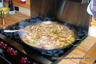 Rambler&#39;s Stove Top Paella